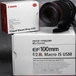 NEWレンズ~EF100mm F2.8Lマクロ IS USM~